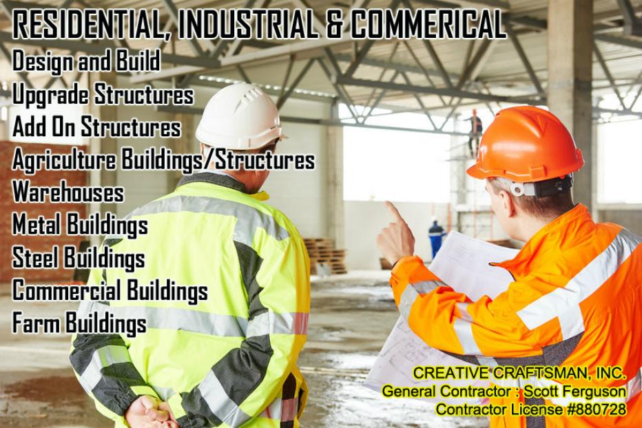 Industrial Creative Craftsman Inc 559 977 8441